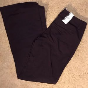 NWT: New York & Co. Purple Pants Size 4 Flare Leg